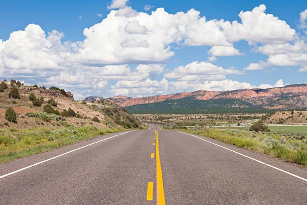 Bryce Canyon Road, Utah - foto de stock