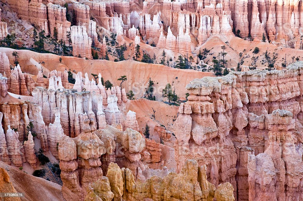 Bryce Canyon Rock Formations USA royalty-free stock photo