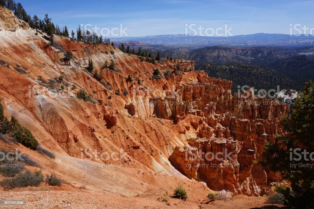 Bryce Canyon Rockscape stock photo