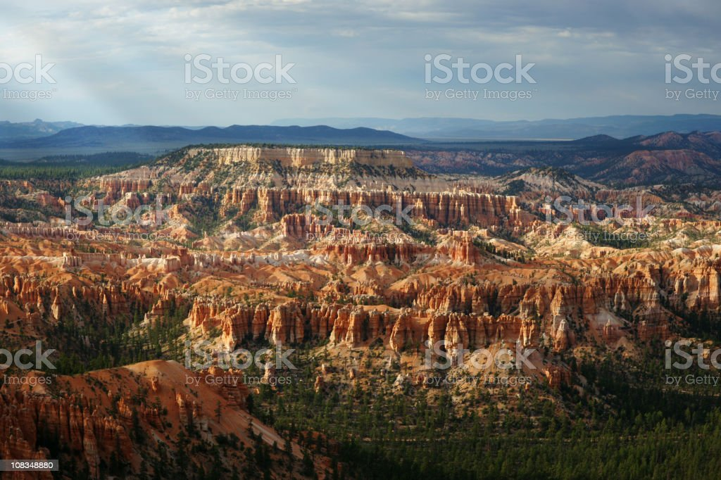 Bryce Canyon Stormy Sunset royalty-free stock photo