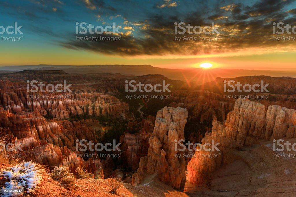 Bryce Canyon Sonnenaufgang – Foto