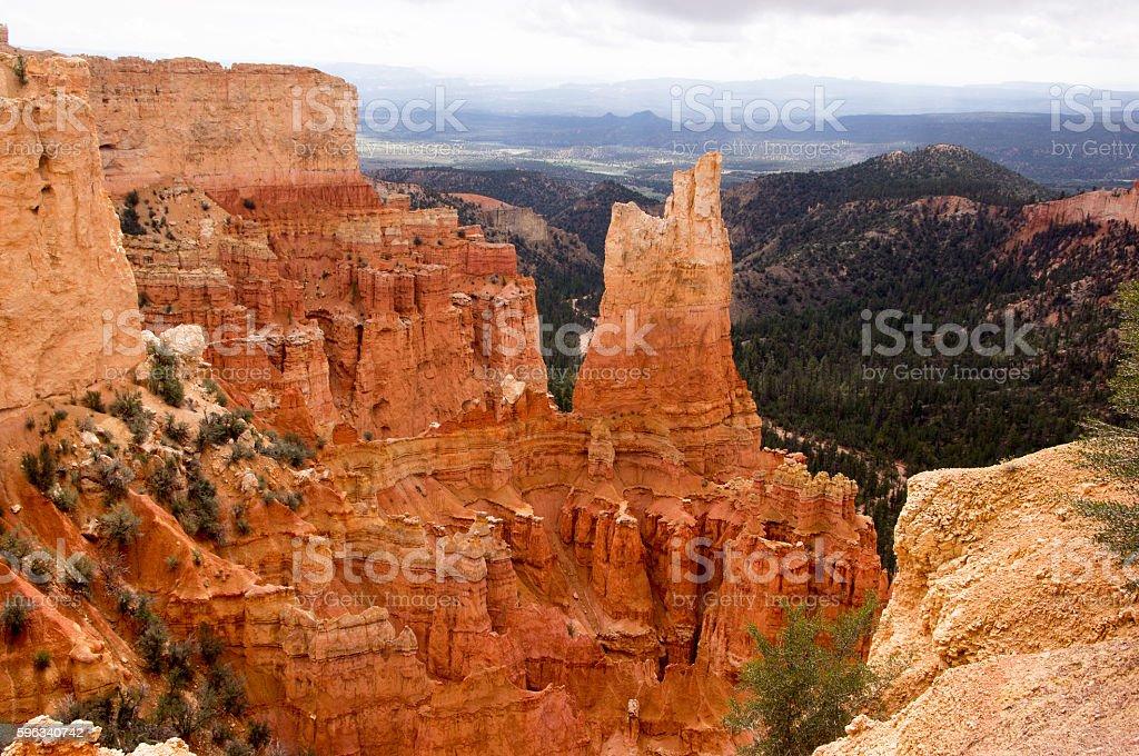 Bryce Canyon, Utah, USA royalty-free stock photo
