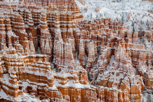 Bryce Canyon Winter stock photo
