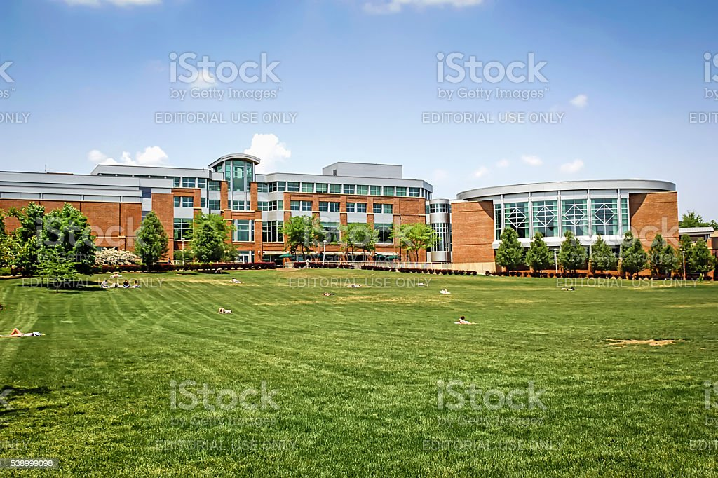 Bryce Jordan Center at Penn State University, State College PA stock photo