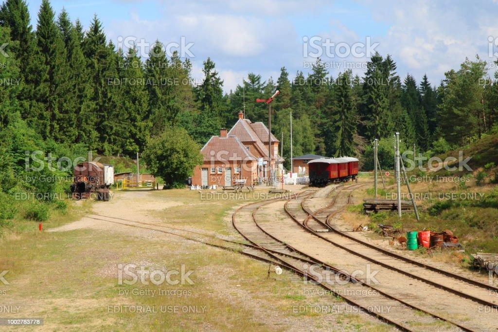 Bryrup - Vrads Veteran Railway stock photo