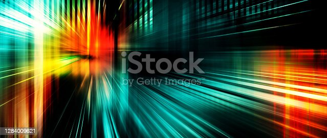 Liight ray, stripe line speed motion background, abstract, science, futuristic, energy, modern digital technology panorama concept