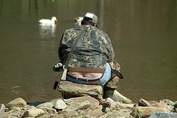 bubba va pesca - buenos culos fotografías e imágenes de stock