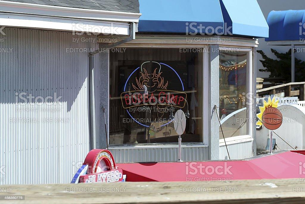 Bubba Gump Restaurant and Market royalty-free stock photo