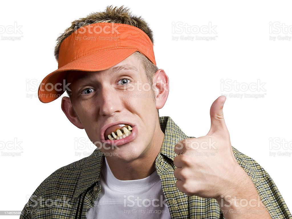 Bubba's Approval stock photo