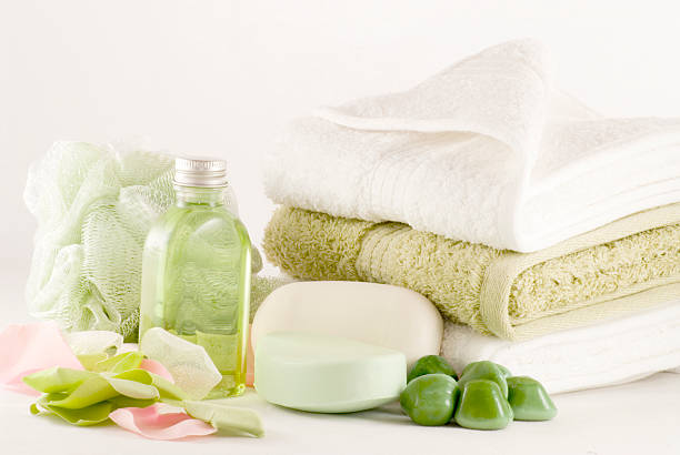 Bubble Bath Collection stock photo