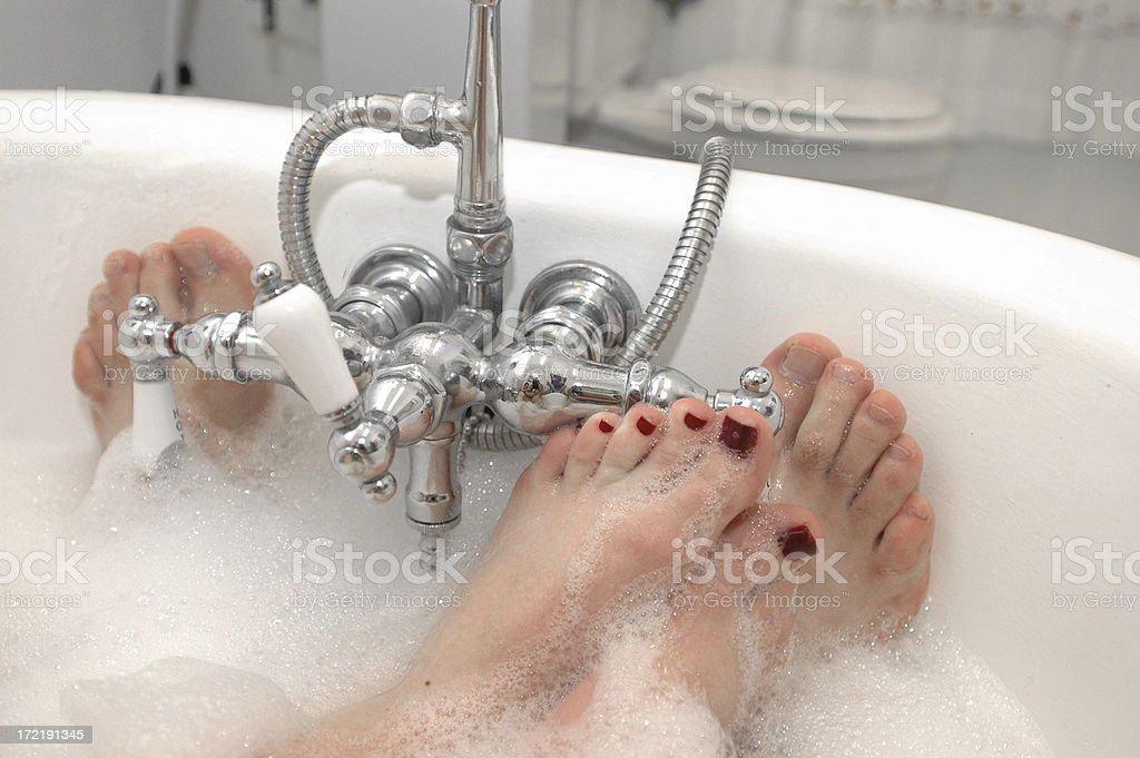 Bubble Bath royalty-free stock photo