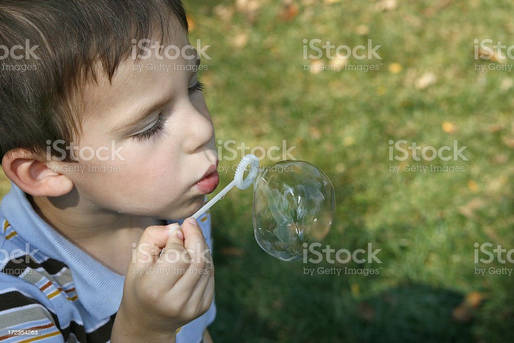 bubble boy royalty-free stock photo