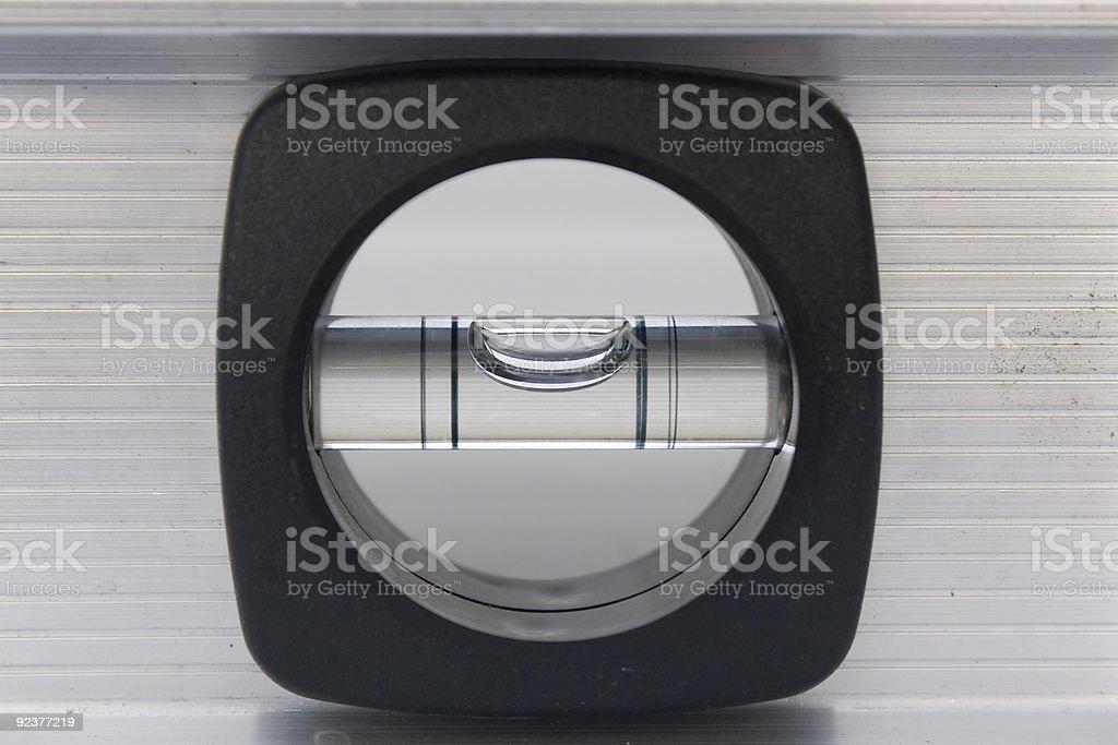 Bubble Level Tool stock photo