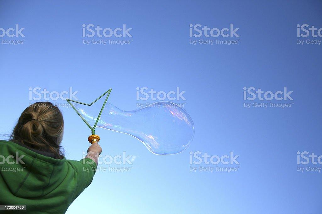 Bubble Maker 01 royalty-free stock photo