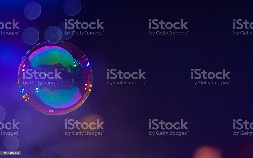 Bubble of soap stock photo
