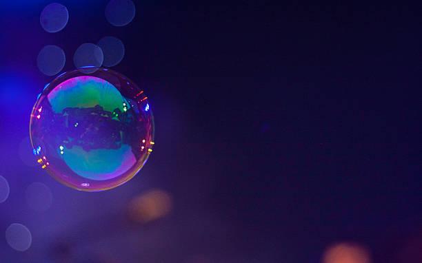 Bubble of soap stock photo