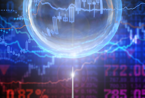 Bubble in the finance world