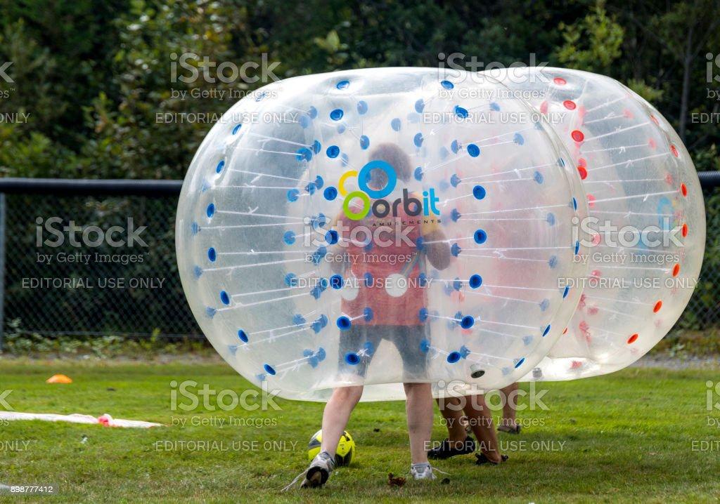 Bubble-Soccer – Foto