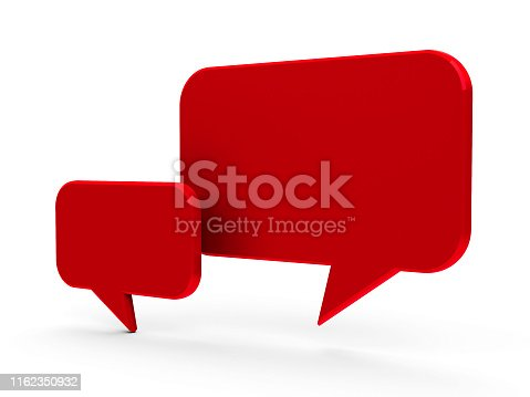 istock Bubble talk #3 1162350932