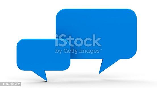 istock Bubble talk #2 1162351762