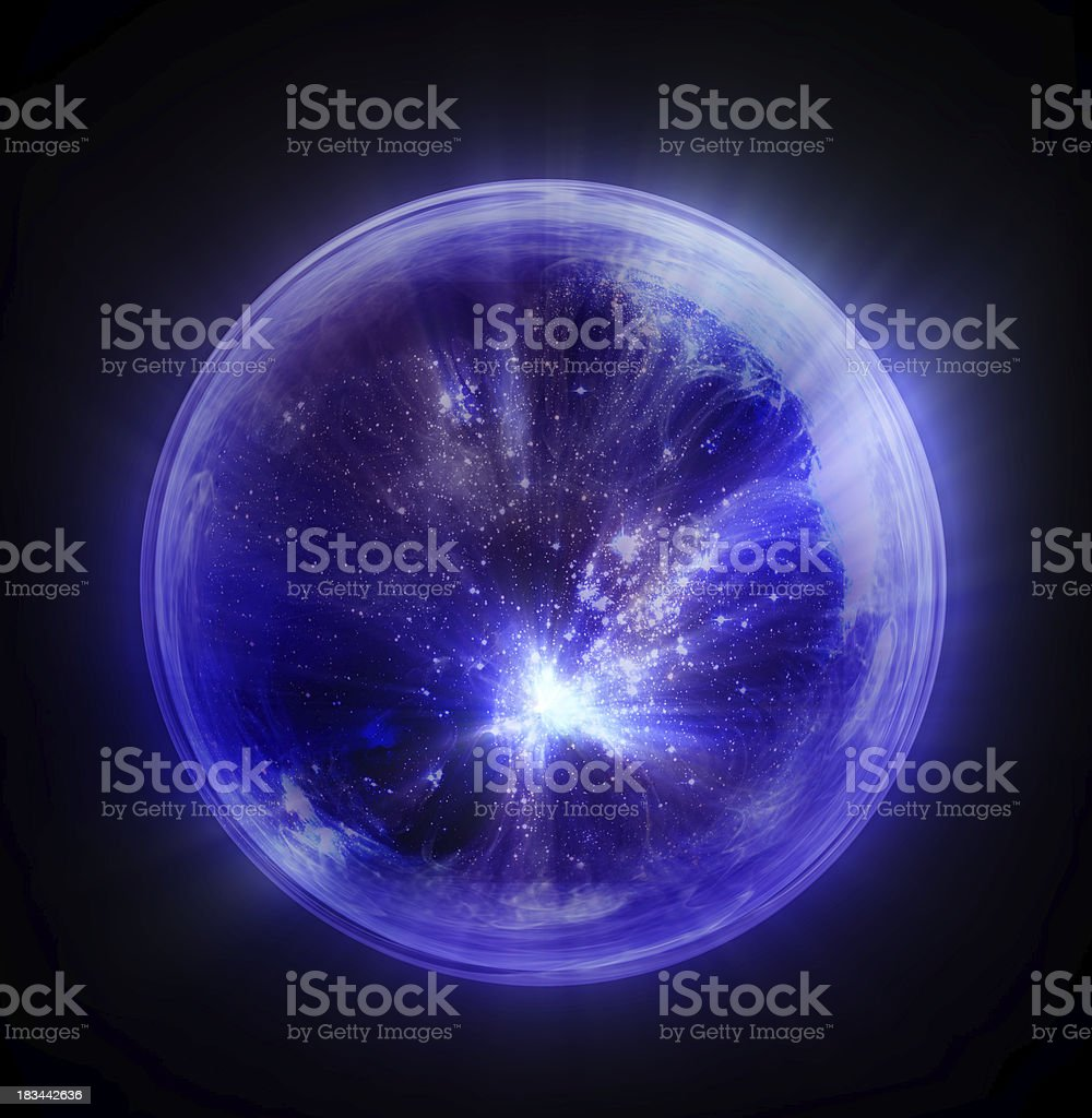 Bubble universe royalty-free stock photo