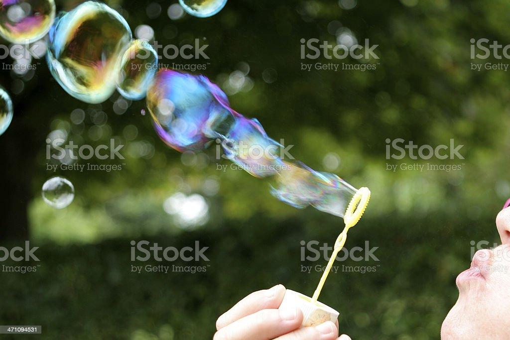Bubble wand royalty-free stock photo