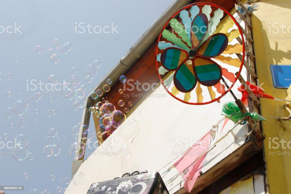 Bubble Wand stock photo