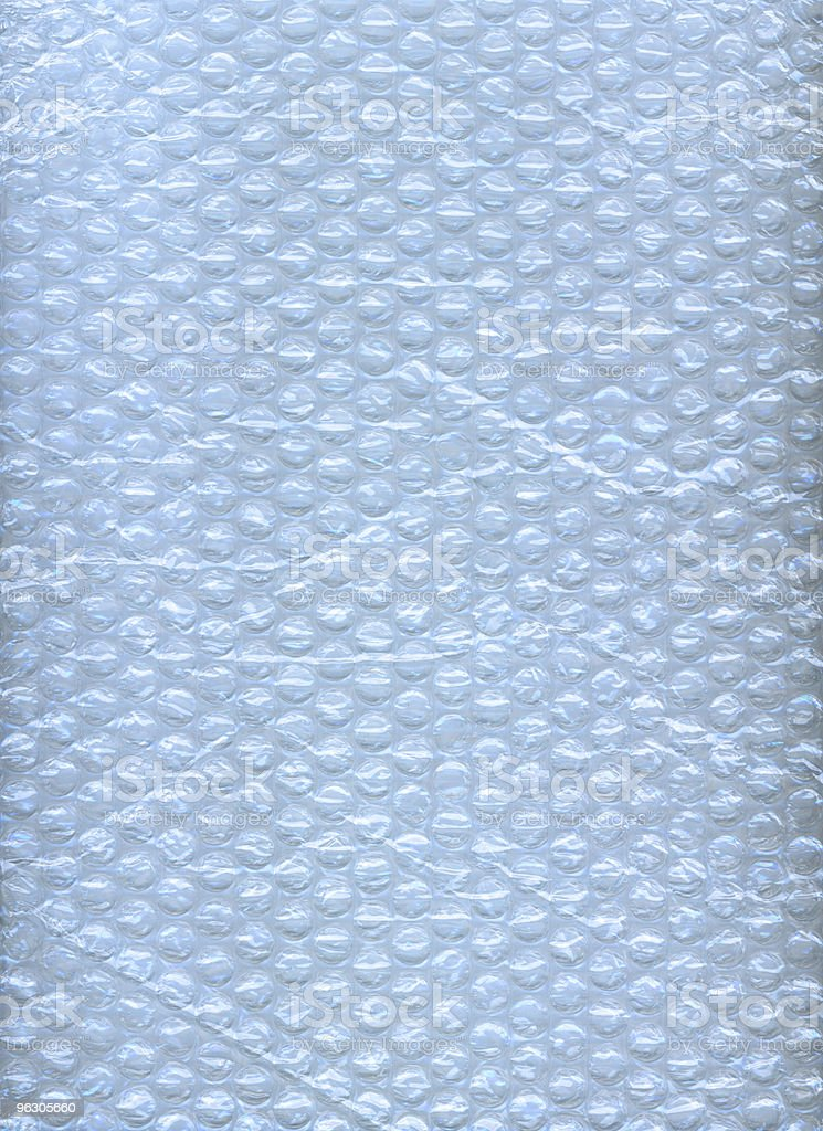 Bubble Wrap Blue stock photo