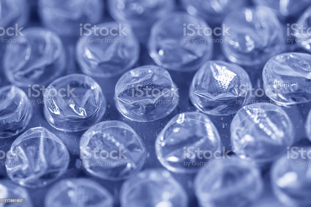 Bubble Wrap Close-up stock photo