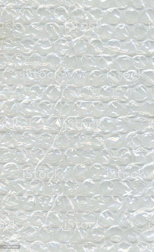 Bubble Wrap Plastic Foil hi-resolution royalty-free stock photo
