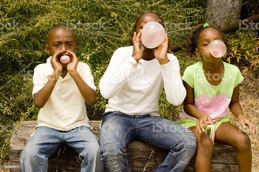 bubblegum contest!!! royalty-free stock photo