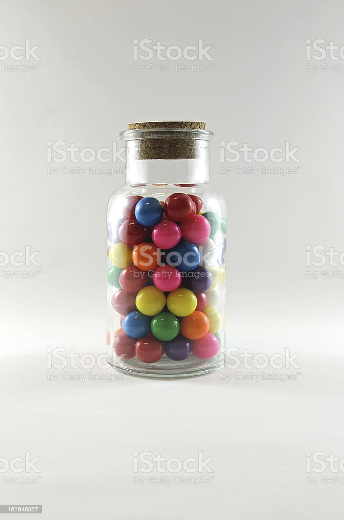 Bubblegum Jar stock photo