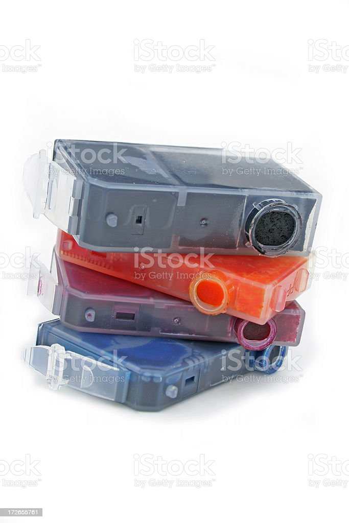 Bubblejet Cartridges royalty-free stock photo