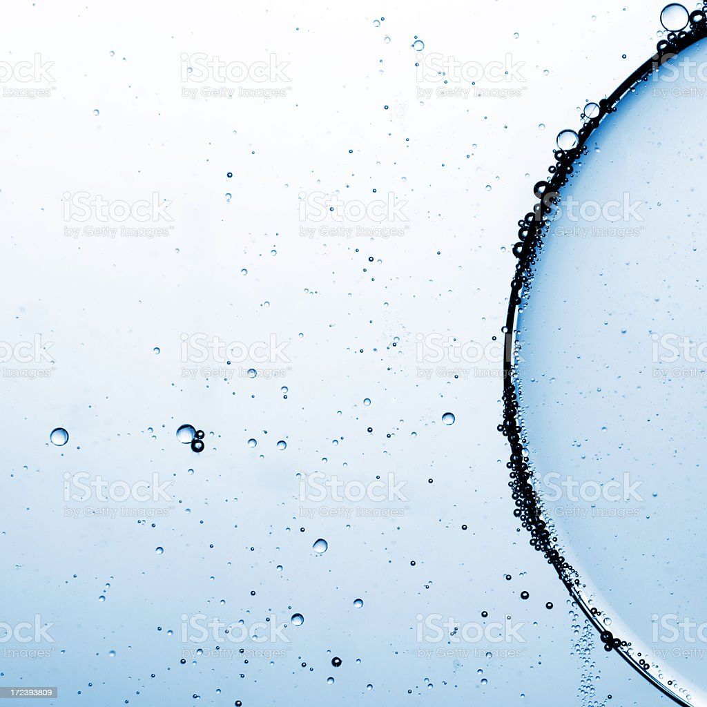 Bubbles abstract royalty-free stock photo