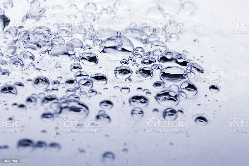 bubbles and water royalty-free stock photo