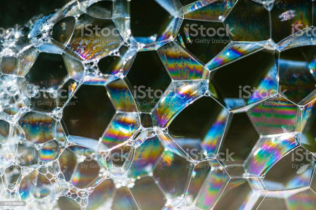 Blasen Hintergrund - Lizenzfrei Abstrakt Stock-Foto