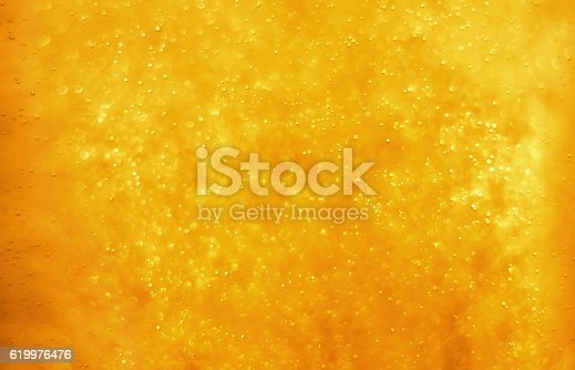 istock Bubbles floating in the liquid 619976476