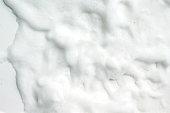 Bubbles foam white washing shower