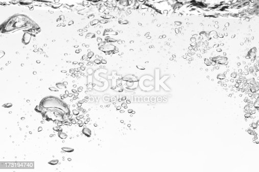 istock Bubbles forming in clear water 173194740