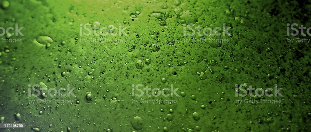 bubbles: glass texture royalty-free stock photo