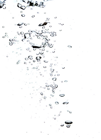 Bubbles under the water