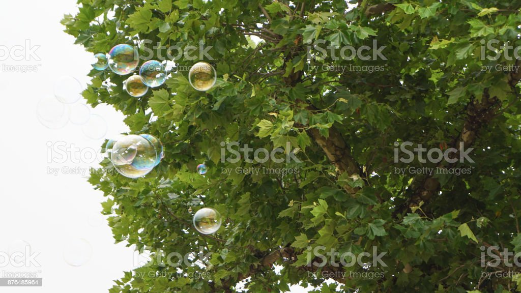 Bubbles in Flight 5 - Royalty-free Abstract Stock Photo