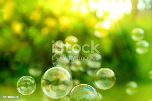 istock Bubbles in the air 532568760