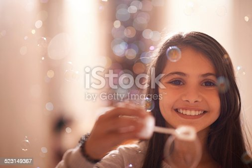 istock Bubbles of happiness 523149367