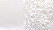 istock Bubbles on milk surface 1292391798
