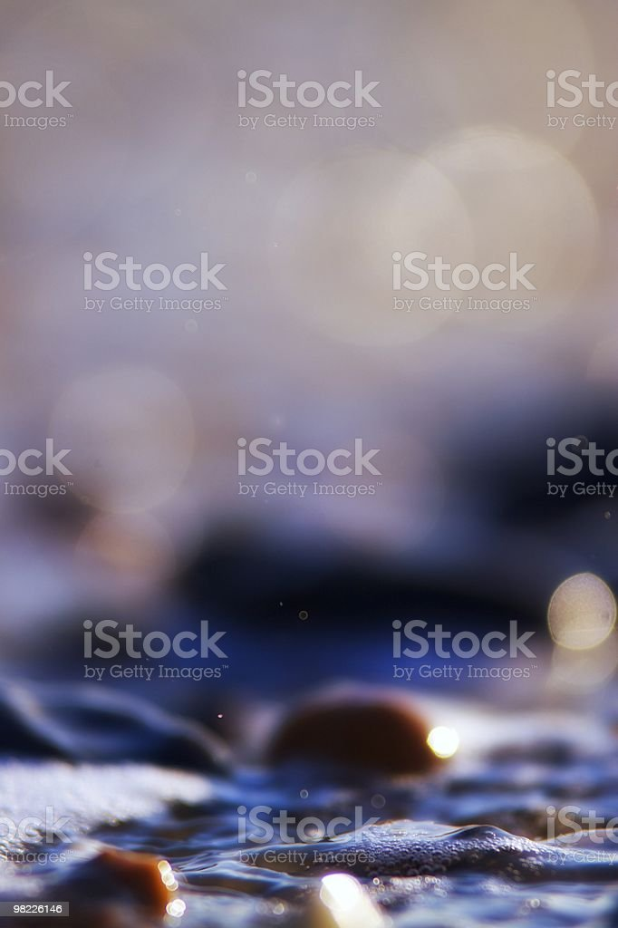 bubbles on the beach royalty-free stock photo