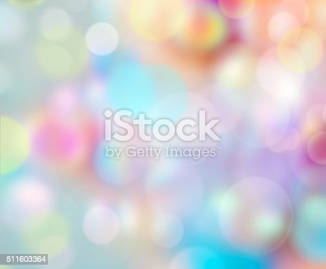 istock Bubbles rainbow color background.Easter wallpaper. 511603364