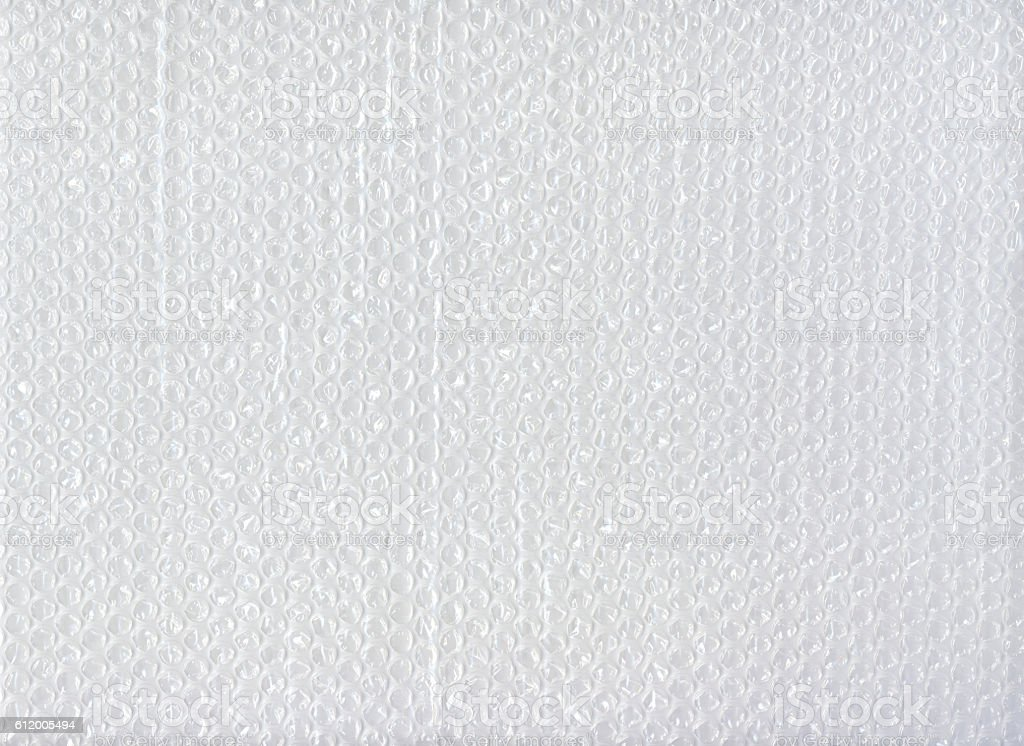 Bubblewrap texture for background stock photo