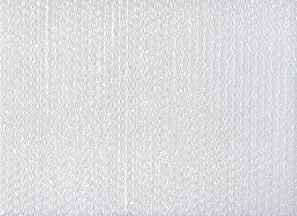 Bubblewrap texture for background stock photo