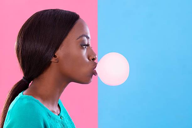 Bubblicious! stock photo